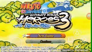 getlinkyoutube.com-สอนโหลดเกม naruto ultimate ninja heroes3 ppsspp