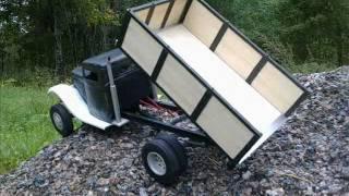 getlinkyoutube.com-Custom / self made rc truck (PART:2) ford 1934