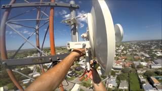 getlinkyoutube.com-Subiendo torre a cambiar un Rocket M5 por Rocket Titanium