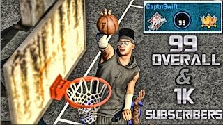 getlinkyoutube.com-NBA 2K15 My PARK - I'm A 99 Overall Now!!! - 1,000 Subscriber Milestone - Old Town Flyers - 3 vs 3