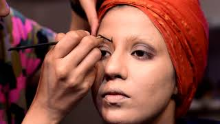 CREATIVE MAKEUP WITH SOME BEAUTY ADD - ONS    LM ACADEMY INDIA width=
