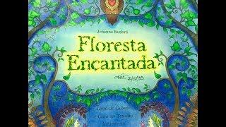 getlinkyoutube.com-Floresta Encantada -  Enchanted Forest - Johanna Basford
