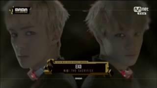 (161202) MAMA 2016 - EXO 엑소 VCR / Intro: The Sacrifice - [Transformer+Monster]