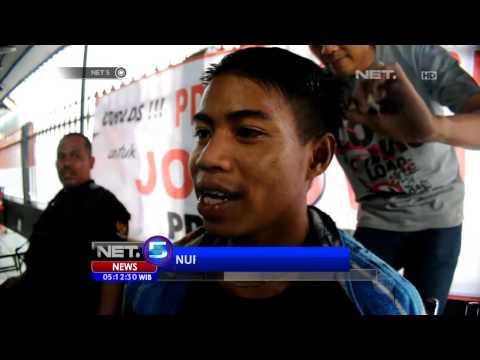 NET5 - Warga Ramai ramai Cukur Rambut ala Jokowi