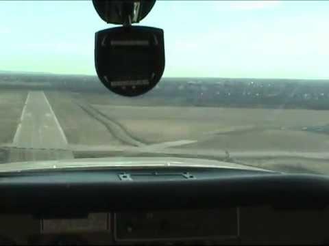 Cessna Cardinal RG Flying the Pattern Arlington, Texas KGKY