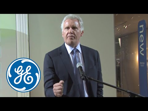 GE CEO Jeff Immelt at RSNA 2012