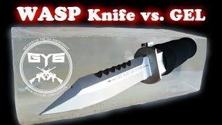 getlinkyoutube.com-WASP Injection Knife -vs.- Ballistic Gel