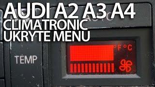 getlinkyoutube.com-Ukryte menu serwisowe Audi Climatronic A2 A3 8L A4 B5 (diagnostyka DTC sam naprawiam)