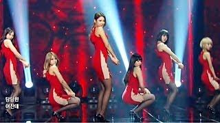 getlinkyoutube.com-AOA 짧은치마(Mini Skirt) New Dance Ver. _흔들려 confused Music Bank 140124 _elvis get out seolhyun choa