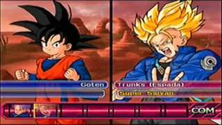 getlinkyoutube.com-FAMILIA GOKU vs FAMILIA VEGETA - Dragon Ball Z Budokai Tenkaichi 3 Version Latino