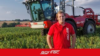 Agrifac Condor - user experience - Matthews (United Kingdom)