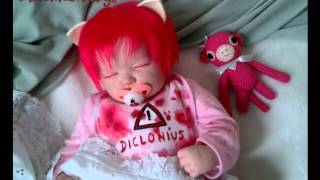 getlinkyoutube.com-Elfen lied.Diclonius baby.Horror & fantasy dolls en México.SOLD.Reborn baby.By Albesa Loa.
