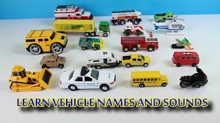 getlinkyoutube.com-Learning Street Vehicle Names and Sounds for Kids