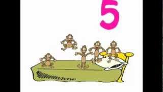 getlinkyoutube.com-Five Little Monkeys Jumping on the Bed - Original Song
