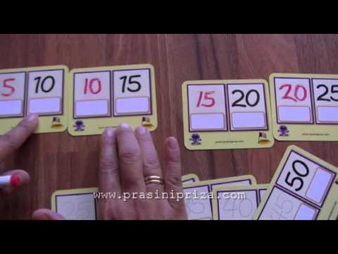 Προπαίδεια με την Πράσινη Πρίζα - Παιχνίδι με καρτέλες