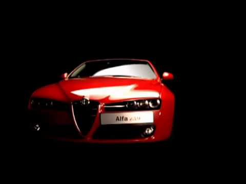Реклама Alfa Romeo 159