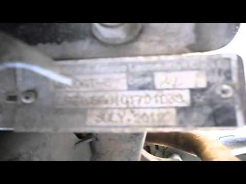 Расположение в Ягуар ХЖ поршневых колец