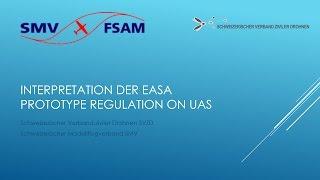 getlinkyoutube.com-Interpretation der EASA Prototype Rules on UAS Interpretation durch SVZD und SMV
