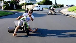 getlinkyoutube.com-Trike Drifting