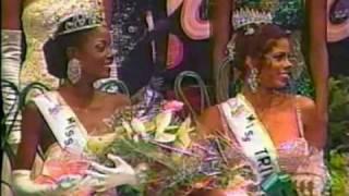 getlinkyoutube.com-Miss Trinidad & Tobago 1998 - Crowning Moment