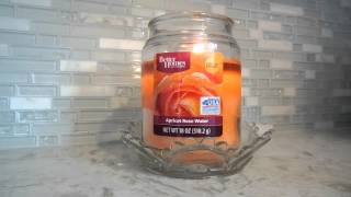 Candle Review: Better Homes and Gardens Apricot Rose Water!