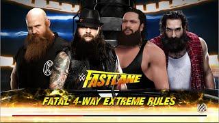 getlinkyoutube.com-WWE 2K16 | Bray Wyatt vs Braun Strowman vs Erick Rowan vs Luke Harper