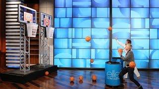 getlinkyoutube.com-Ellen's Halftime Game