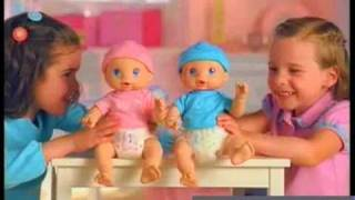 Available at Poppies - Baby Alive Wet 'n Wiggles Doll