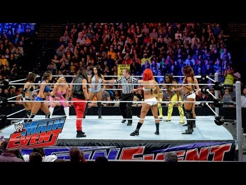 Divas Championship No 1 Contender Battle Royal WWE Main Event, April 15, 2014