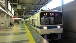 小田急8000形チョッパ車 入れ換え電車町田発車