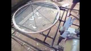 getlinkyoutube.com-maquina de peneirar areia caseira passo a passo