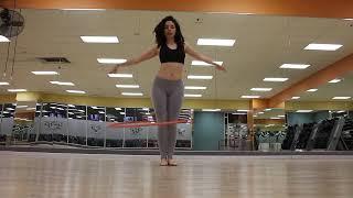 getlinkyoutube.com-Hula Hoop Dance to Reggaeton
