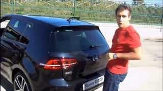 getlinkyoutube.com-Test su strada Volkswagen Golf GTD
