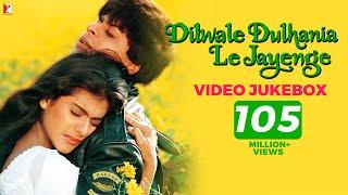 Dilwale Dulhania Le Jayenge Video Jukebox | Full Song | Jatin-Lalit | Shah Rukh Khan | Kajol width=