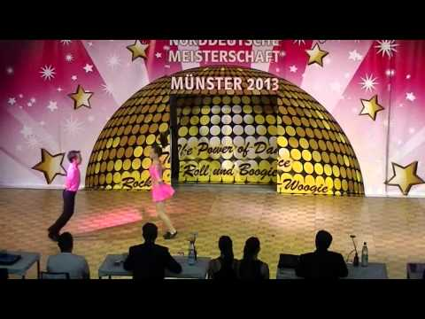 Antonia Schmid & Julian Minks - Norddeutsche Meisterschaft 2013