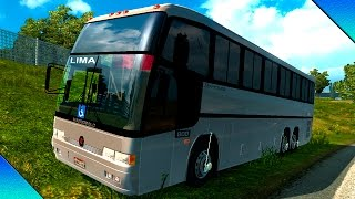 getlinkyoutube.com-Euro Truck Simulator 2 -- Mod Ônibus MB GV Sem Interior By:Linux