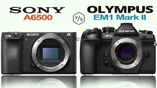 getlinkyoutube.com-Sony A6500 vs Olympus OMD EM1 Mark II
