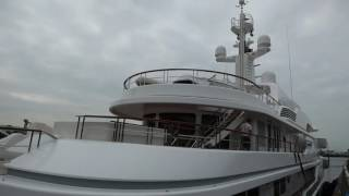 getlinkyoutube.com-Luxury yacht - Hampshire 2, Belfast