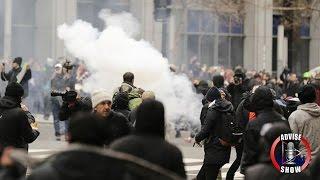 getlinkyoutube.com-Anti-Trump Protest In Washington D.C.| LIVE