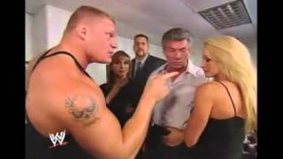 getlinkyoutube.com-Stephanie, Sable, Brock Lesnar and The Big Show 9/11/2003
