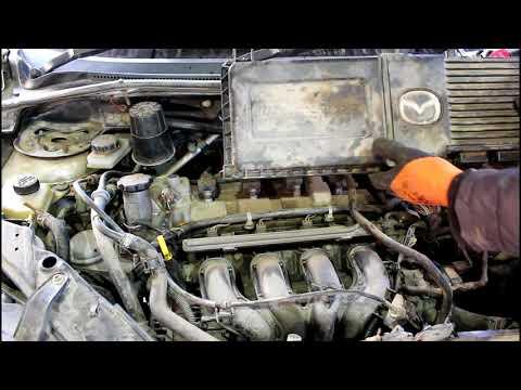Где у Rover 200 щуп коробки передач