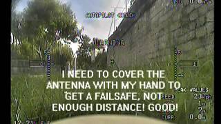getlinkyoutube.com-RC filter on D8R-XP FrSky RSSI video test
