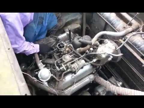 Мотор газ-41 5,5 литра V8 (можно ставить в волгу)