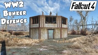 getlinkyoutube.com-Fallout 4 - Best Settlement Defence (Bunker)