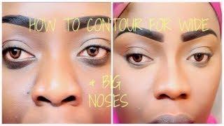 getlinkyoutube.com-[DETAILED] How To Contour For A Wider Bigger Nose | Tree of Life Techniques & Pitfalls