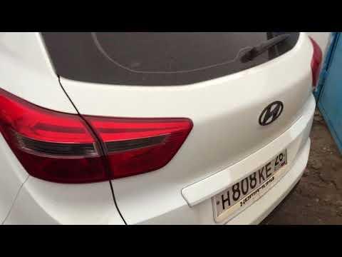 Убираем стук двери багажника на Hyundai и вздутие краски на Creta. Часть 2
