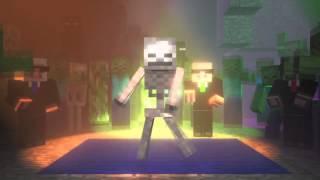 getlinkyoutube.com-Weekend - Ona tańczy dla mnie [Minecraft Parody]