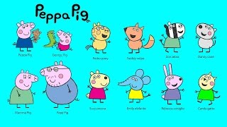 getlinkyoutube.com-Peppa Pig Coloring Pages For Kids ♥ Peppa Pig Coloring Book ♥ Part 01