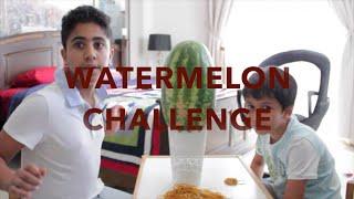 Aboodroid| Watermelon challenge | تحدي البطيخ