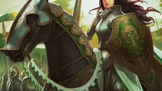 MTG Magic the Gathering - Modern Knights vs Elves (Tribal Showdown)